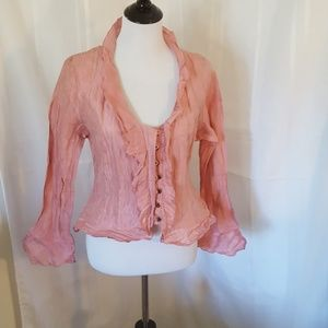 Silk blouse from  Italy